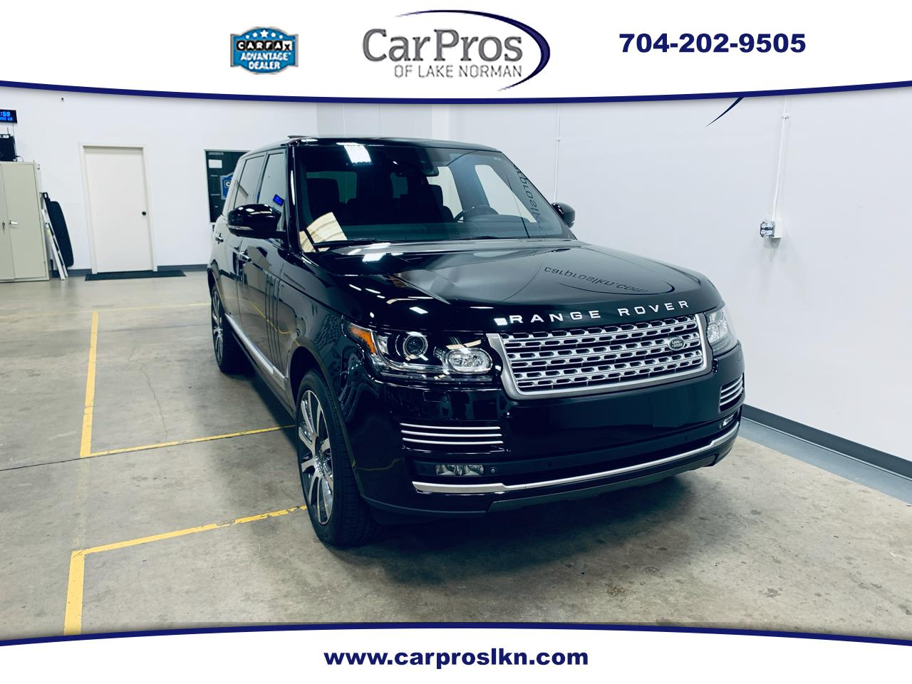 Land Rover Range Rover 4WD 4dr Supercharged Autobiography LWB 2014