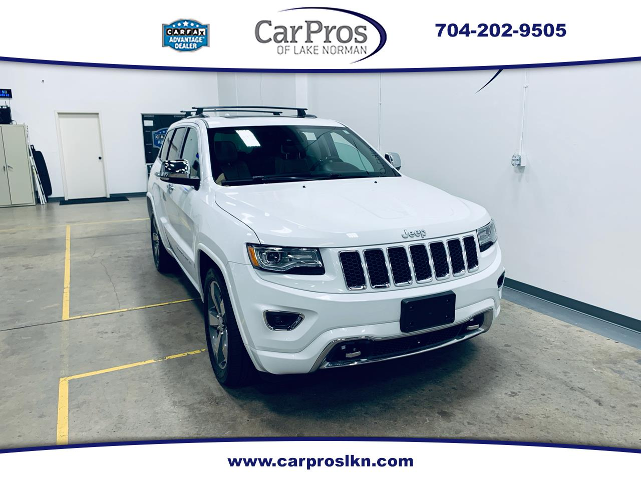 Jeep Grand Cherokee 4WD 4dr Overland 2015