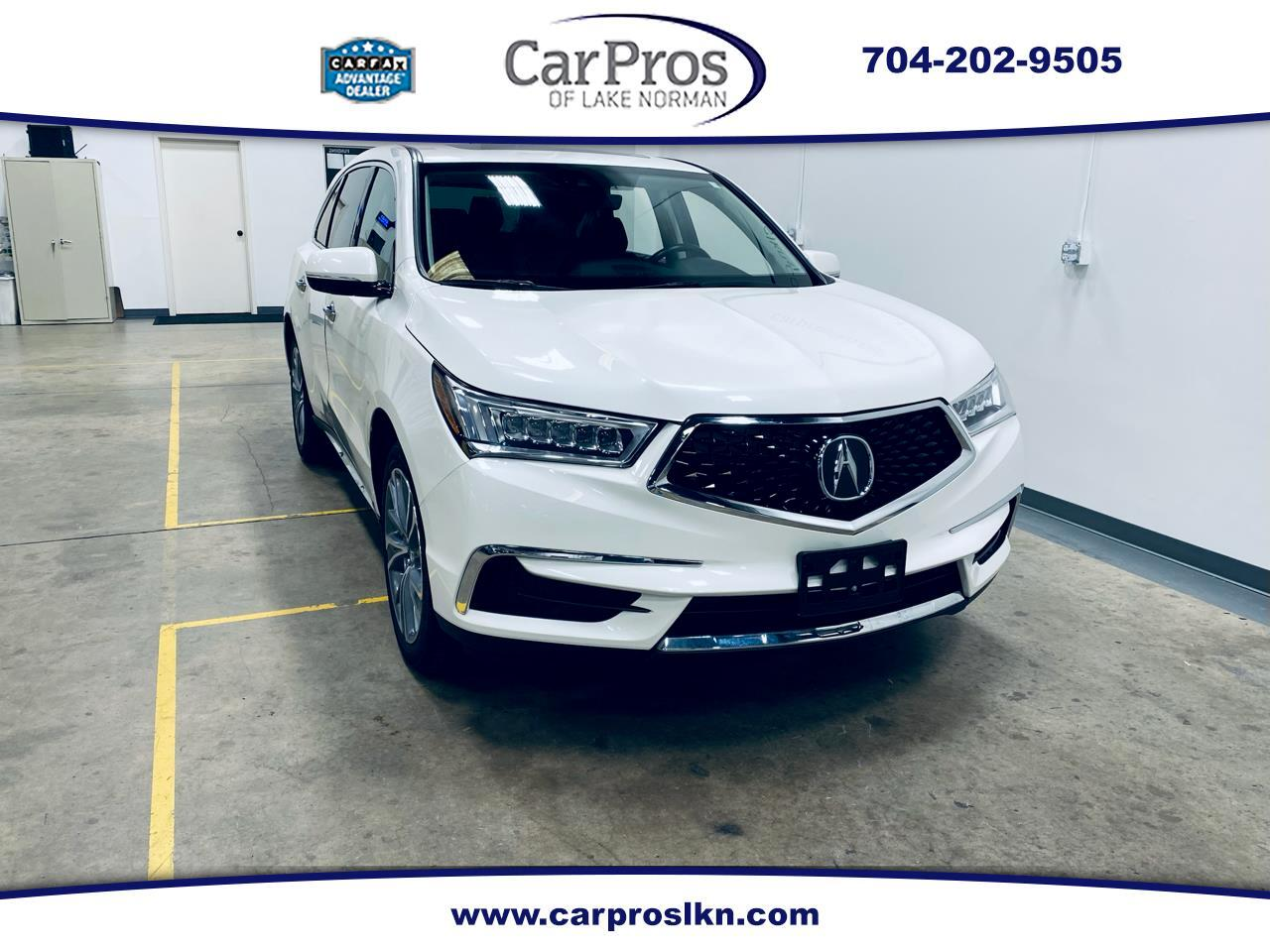 Acura MDX SH-AWD w/Technology/Entertainment Pkg 2018