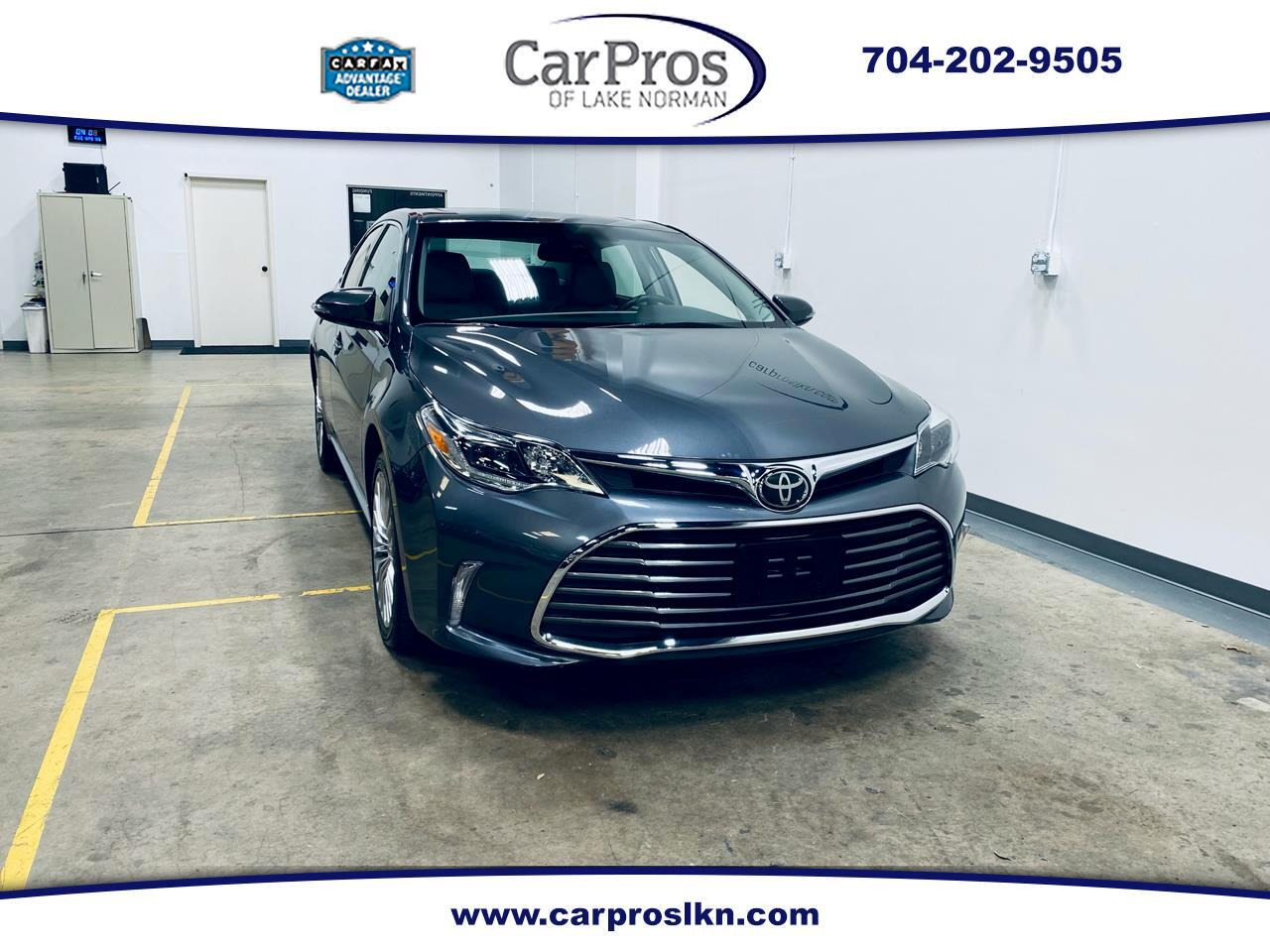 Toyota Avalon Limited 4D Sedan 2018
