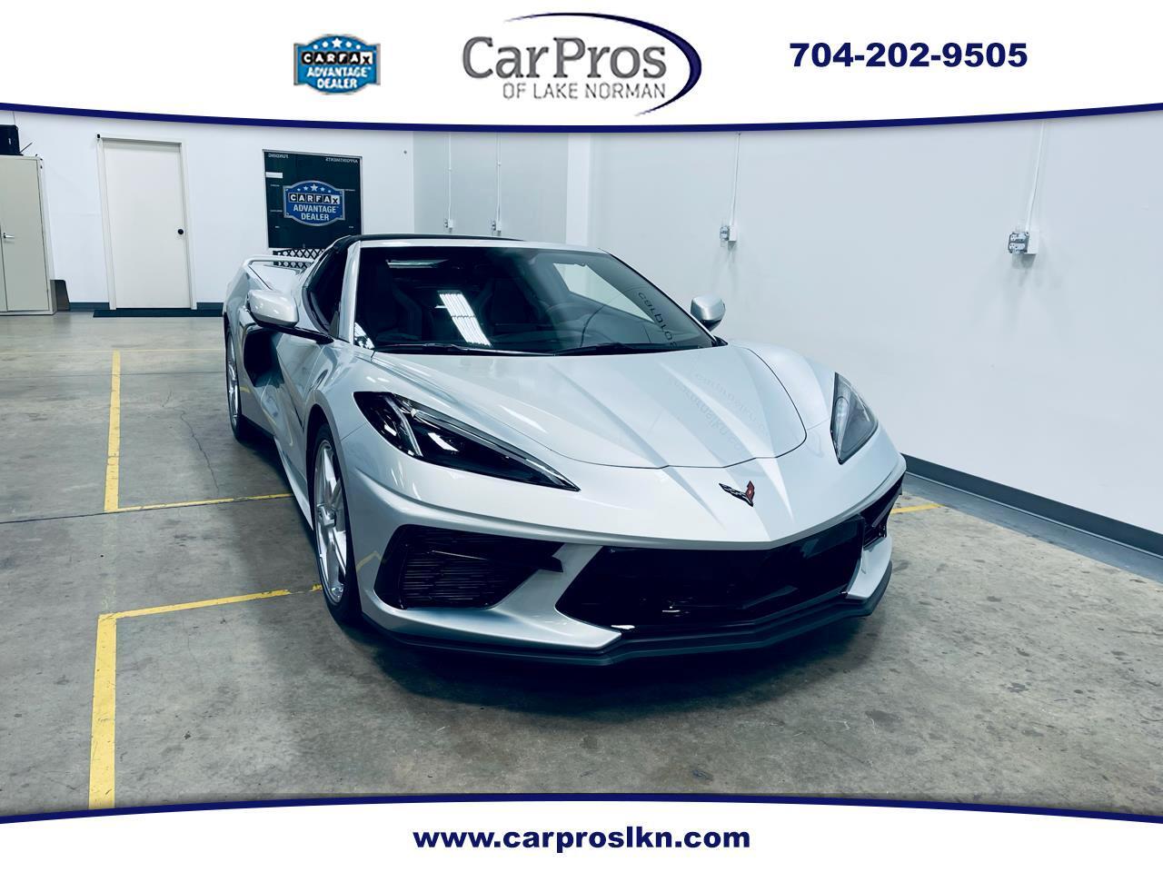 Chevrolet Corvette 2dr Stingray Cpe w/1LT 2021
