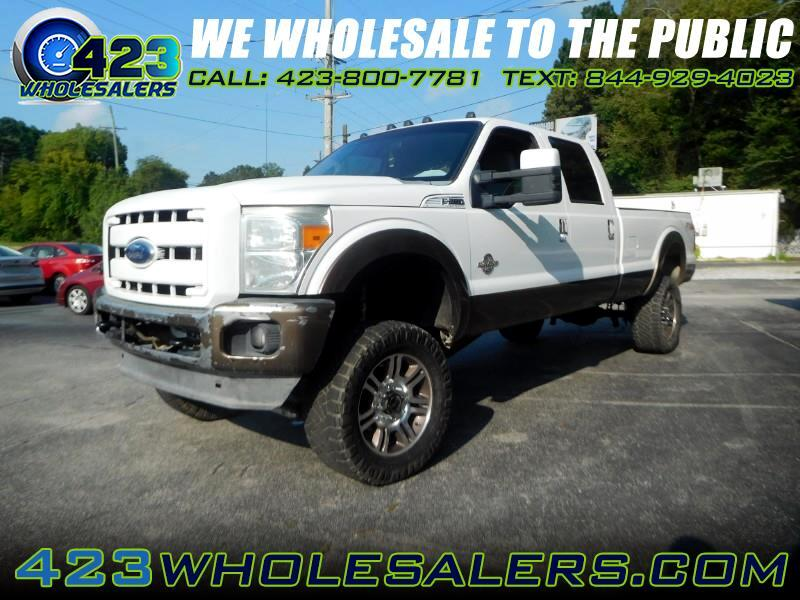 Ford F-250 SD King Ranch Crew Cab Long Bed 4WD 2011
