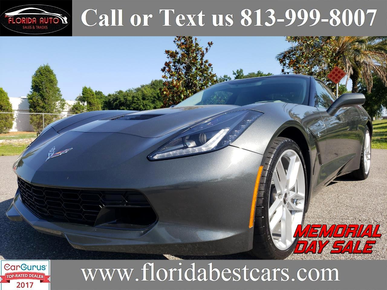 2018 Chevrolet Corvette 3LT Coupe Automatic