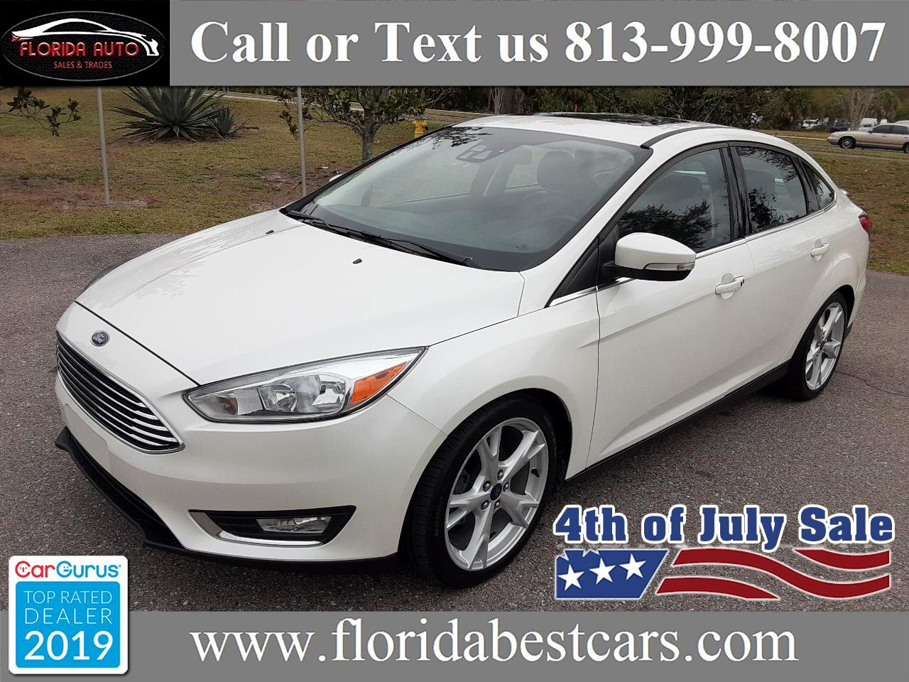 Ford Focus Titanium Sedan 2016