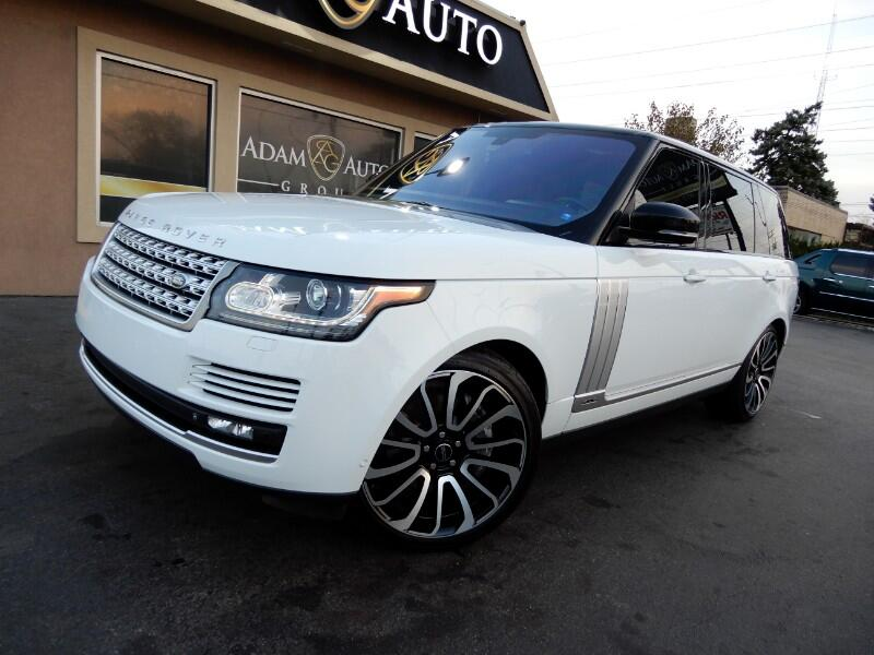 2014 Land Rover Range Rover 4WD 4dr Autobiography LWB