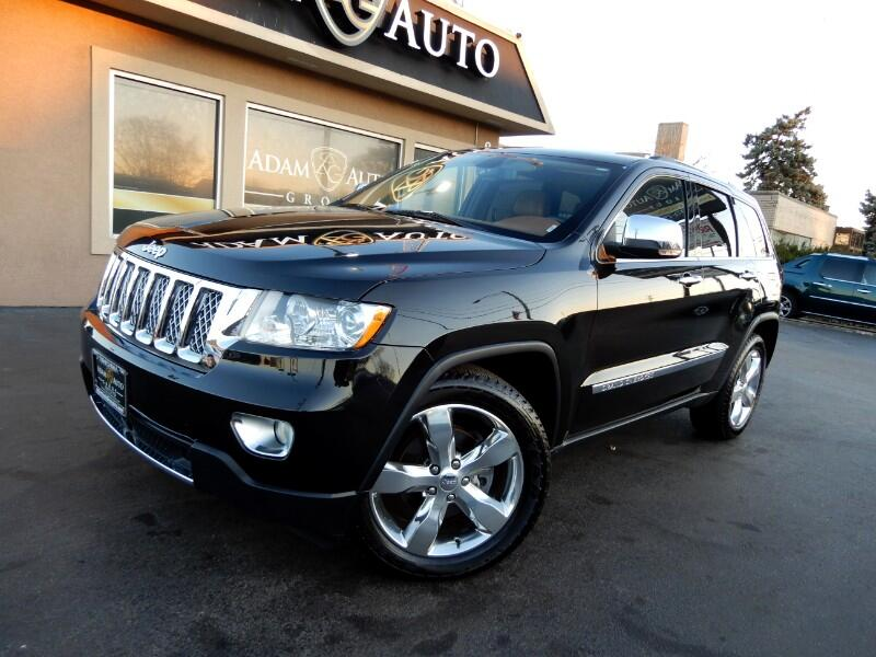2011 Jeep Grand Cherokee 4WD 4dr Overland Summit