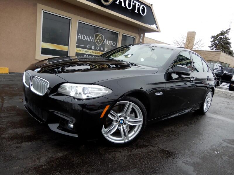 2015 BMW 5-Series 550i xDrive