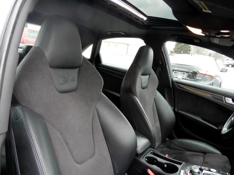 2012 Audi S4 Sedan quattro S tronic