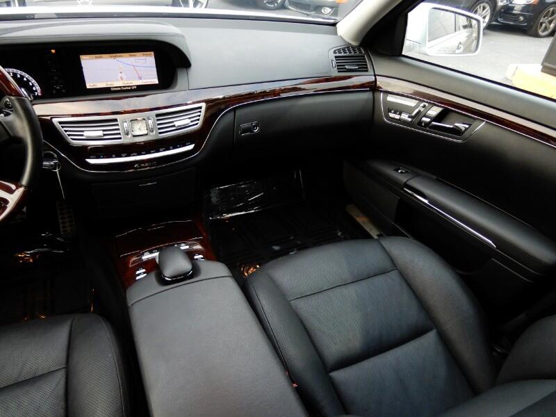 2013 Mercedes-Benz S-Class S550 4-MATIC