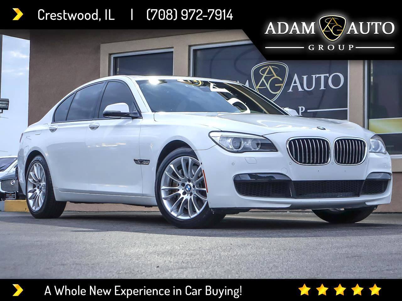 BMW 7-Series 750i xDrive 2013