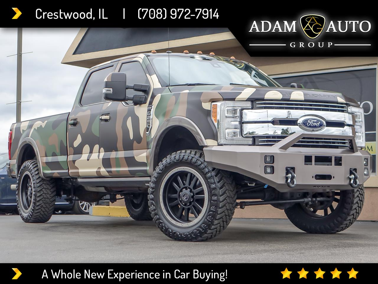 Ford F-250 SD King Ranch Crew Cab 4WD 2018