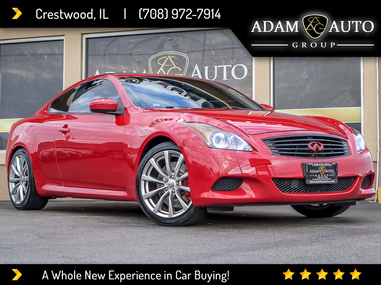 Infiniti G37 Coupe 2dr Sport RWD 2008