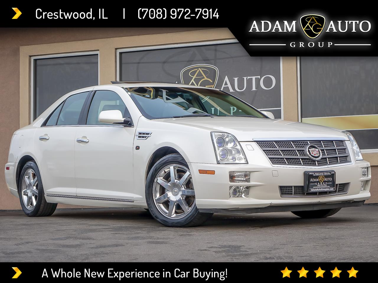 Cadillac STS V6 Luxury AWD with Navigation 2008
