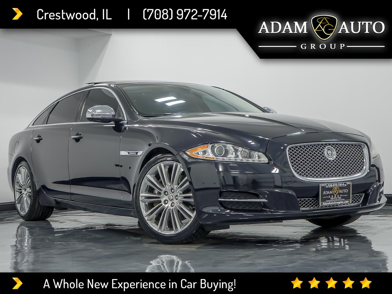 Jaguar XJ-Series XJL Supercharged 2012