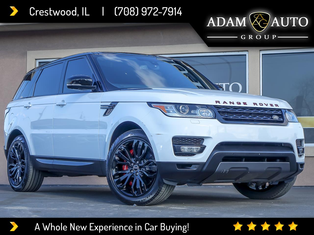 Land Rover Range Rover Sport Supercharged Dynamic 2016