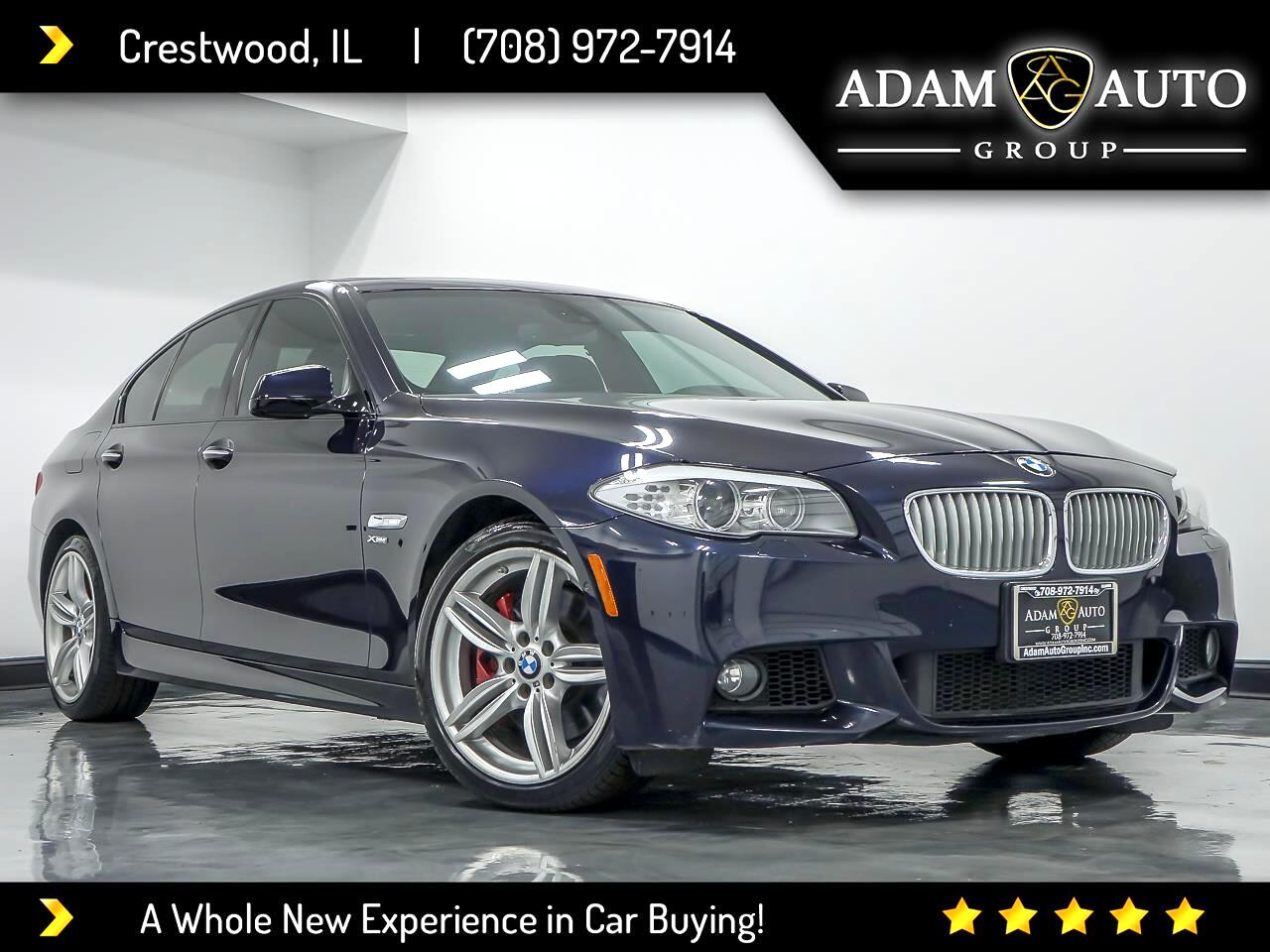 BMW 5-Series 550i xDrive 2012