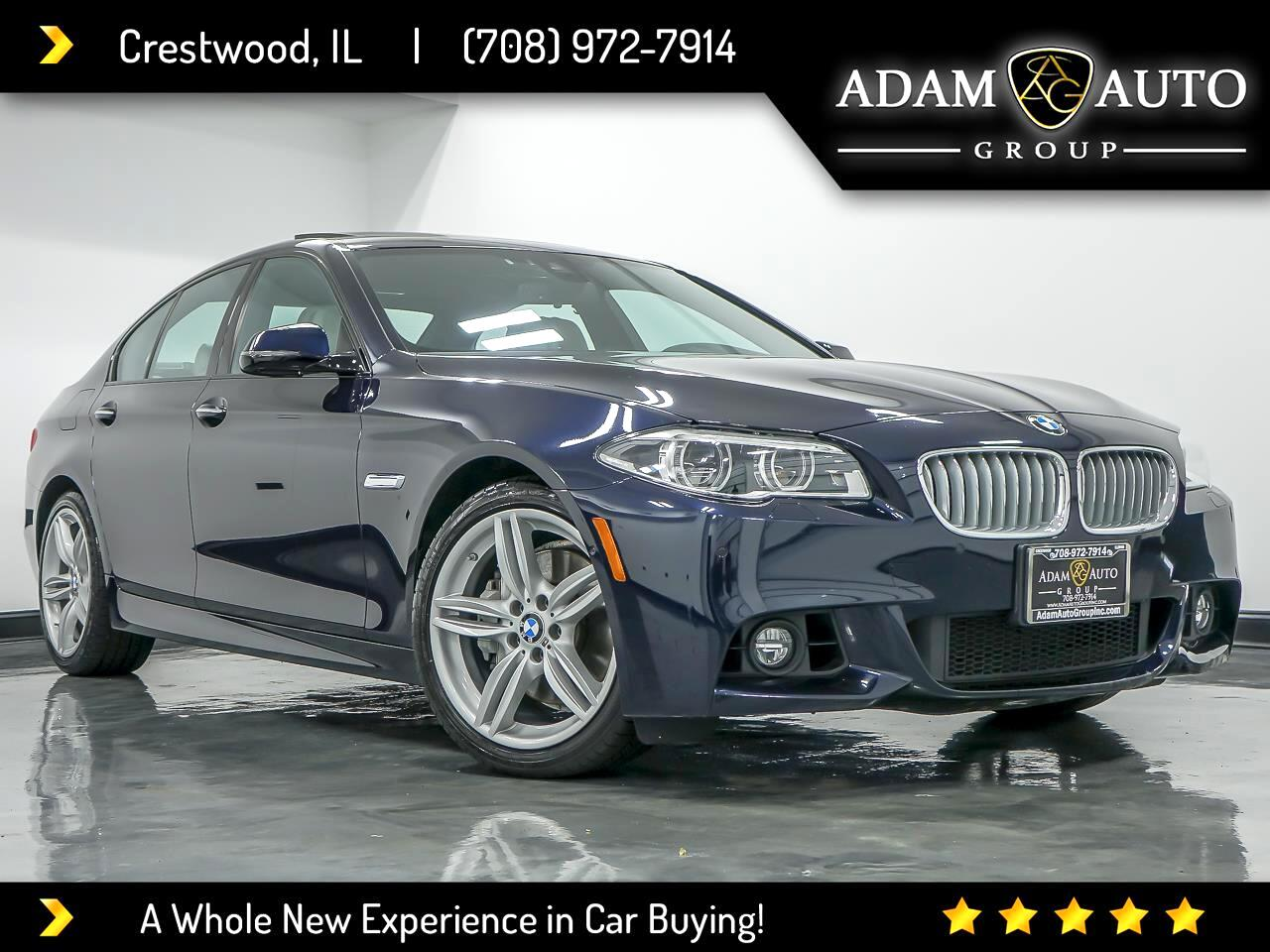 BMW 5-Series 550i xDrive 2015