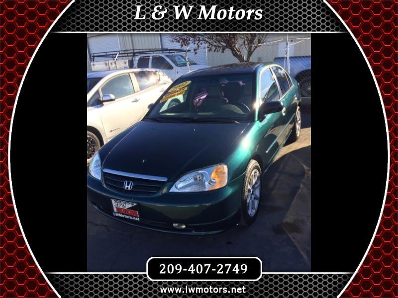 Honda Civic LX sedan 2002