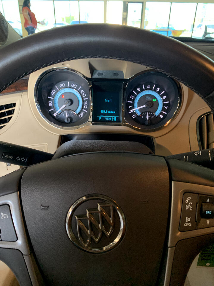 Buick LaCrosse CXL FWD 2010