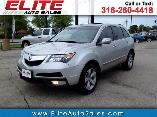 2011 Acura MDX SH-AWD 4dr Tech/Entertainment Pkg