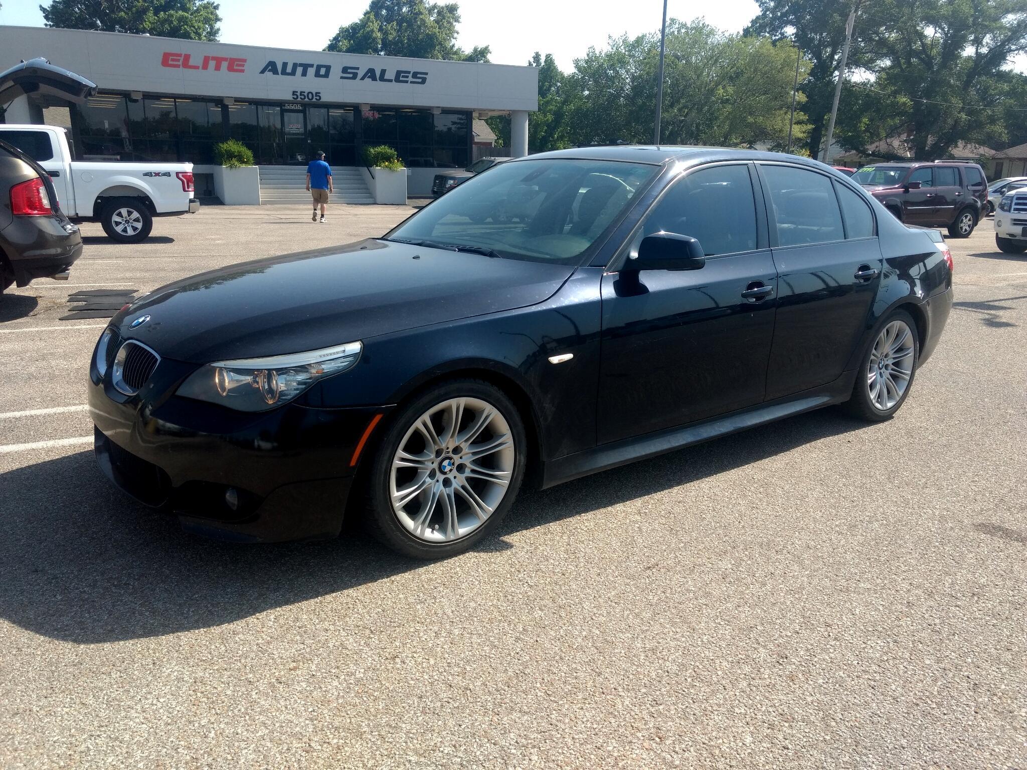 2010 BMW 5 Series 4dr Sdn 535i RWD