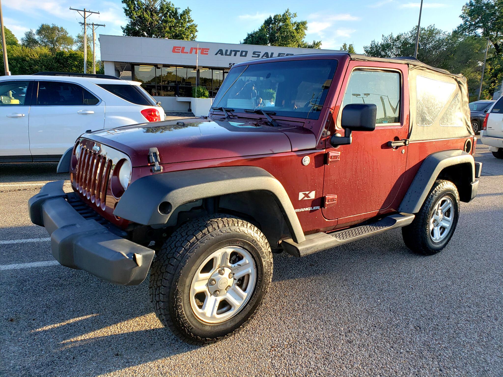 Jeep Wrangler 4WD 2dr X 2007