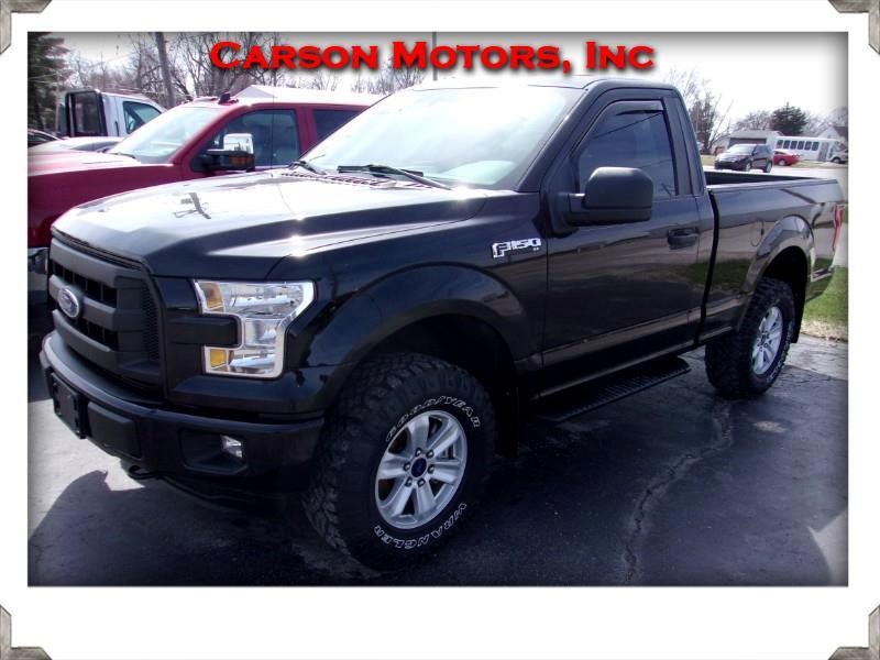 2016 Ford F-150 Reg. Cab Short Bed 4WD