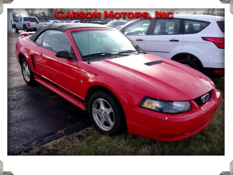 Ford Mustang Deluxe Convertible 2002