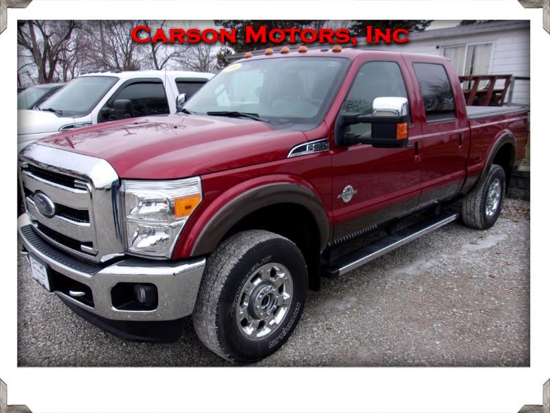 Ford Super Duty F-250 SRW Lariat 4WD Crew Cab 6.75' Box 2016