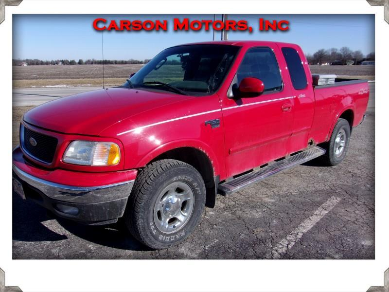Ford F-150 Lariat SuperCab 4WD 2003