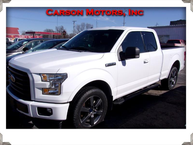 Ford F-150 SuperCab Short Bed 4WD 2017