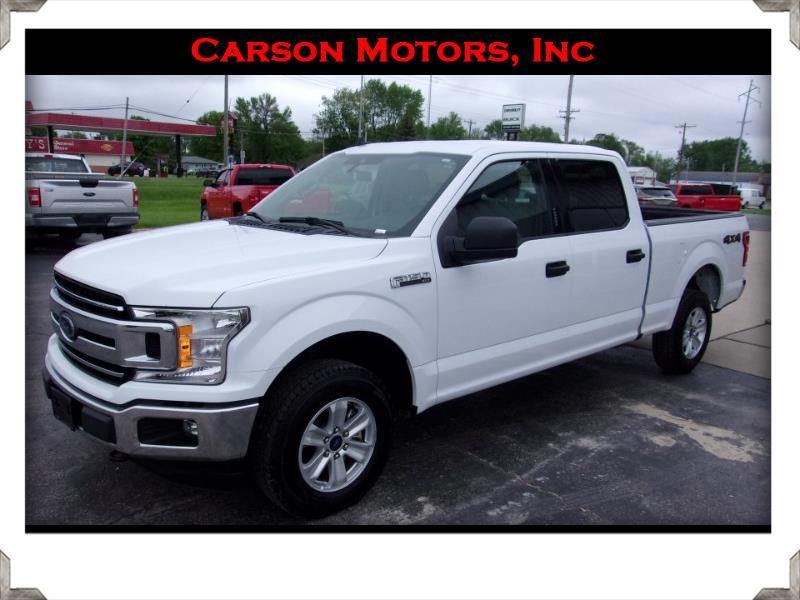Ford F-150 XLT SuperCrew 4WD 2019