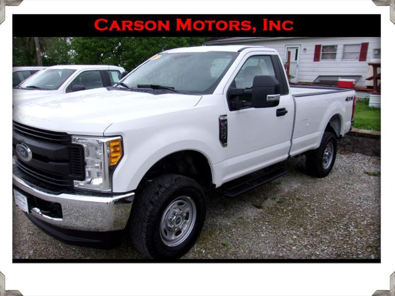 Ford Super Duty F-250 SRW XLT 4WD Reg Cab 8' Box 2017