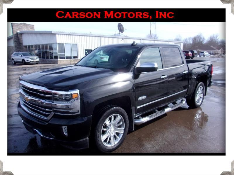 Chevrolet Silverado 1500 High Country Crew Cab 4WD 2017