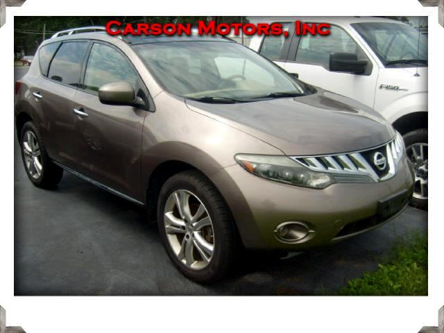 2009 Nissan MURANO S/S LE AWD