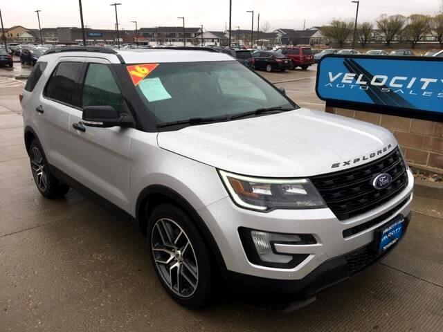 used 2016 ford explorer sport for sale in draper salt lake city ut 84020 velocity auto sales. Black Bedroom Furniture Sets. Home Design Ideas