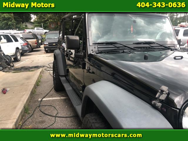 2012 Jeep Wrangler 2WD 4dr Unlimited Sahara