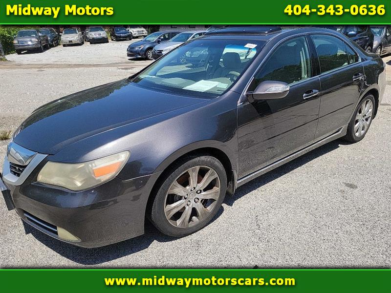 Acura RL CMBS/PAX Package 2009