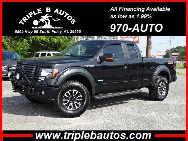 2012 Ford 150 FX4 SuperCab 6.5-ft. Bed 4WD