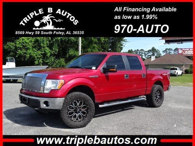 2010 Ford 150 XLT SuperCrew 5.5-ft. Bed 4WD
