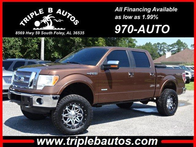 2012 Ford 150 Lariat SuperCrew 5.5-ft. Bed 4WD