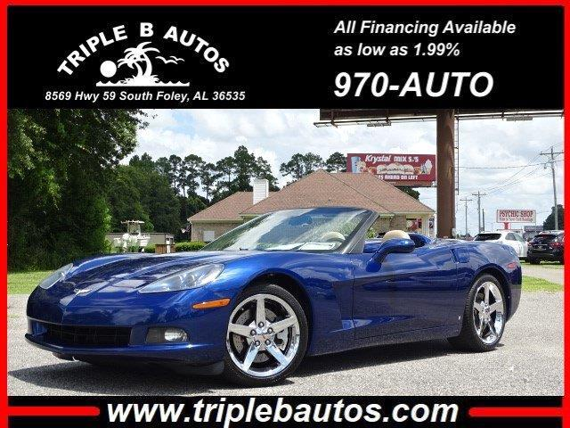 2007 Chevrolet Corvette Convertible LT2