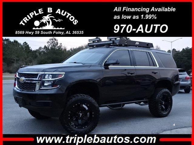 2015 Chevrolet Tahoe 4dr 4WD