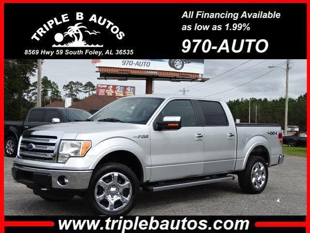 2014 Ford 150 Lariat SuperCrew 6.5-ft. Bed 4WD