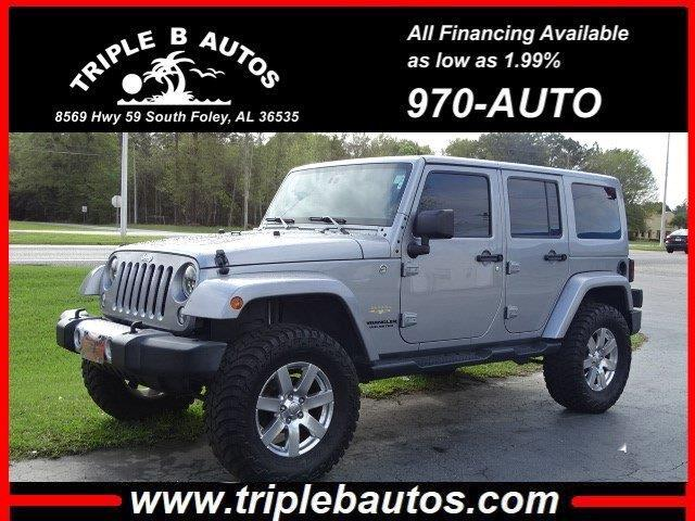 2015 Jeep Wrangler Unlimited Unlimited Sahara 4WD