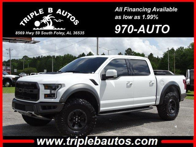 2017 Ford 150 Raptor SuperCrew 4WD