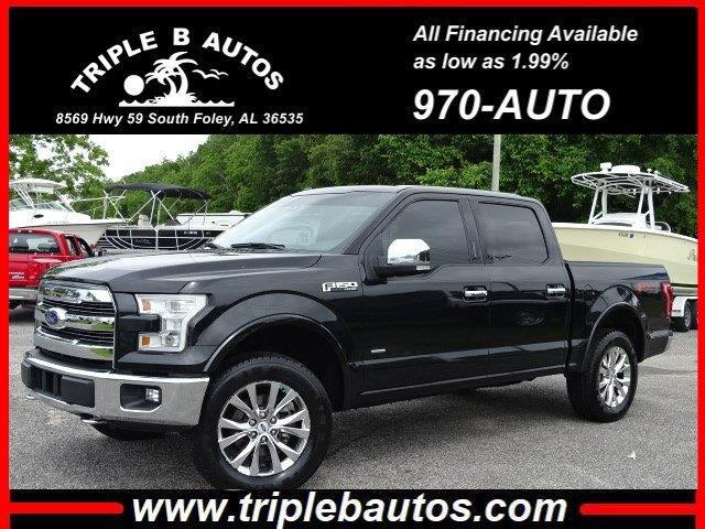 2015 Ford 150 Lariat SuperCrew 6.5-ft. Bed 4WD