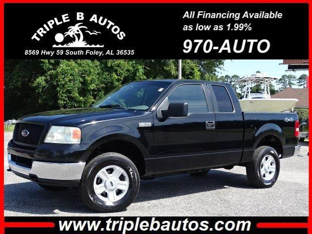 2005 Ford 150 XLT SuperCab Long Bed 4WD