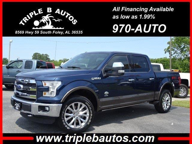 2015 Ford 150 King Ranch SuperCrew 6.5-ft. Bed 4WD