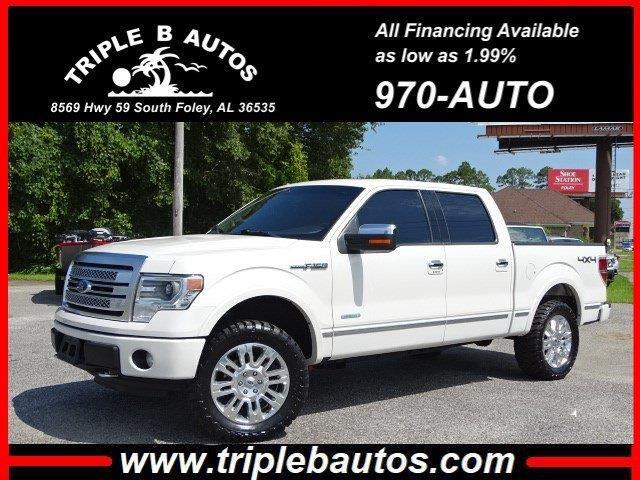 2014 Ford 150 Platinum SuperCrew 6.5-ft. Bed 4WD